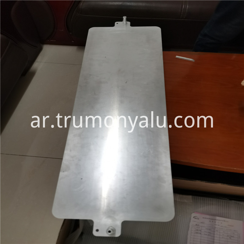 Aluminum Brazed Water Cooling Plate12