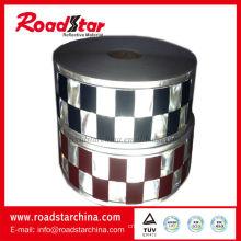 Micro prismatic PVC stripe for police