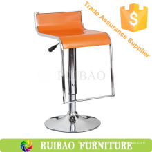 Ruibao Cheap Price ABS Plastic Bar Stool with Footrest