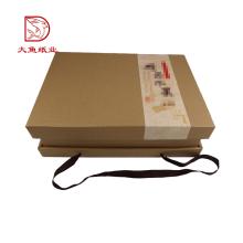 Caixa por atacado em massa Chinês personalizado caixas de frutas claras