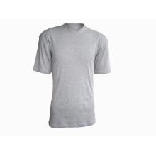 100% Cotton Men's V-Neck T-shirt 160G
