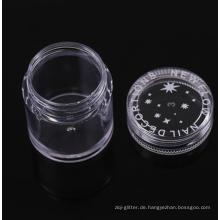 Nagelpulver 10g Plastikdose für Glitzerpulvergläser