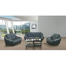 Best Quality Modern Sofa, Genuine Leather Sofa (A1109)