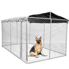 Hot Dip Galvanized Dog Kennel Welded Wire Mesh Chain Link Fence Kennel