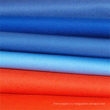 Различные цвета труда носить ткань полиэстер хлопок саржа