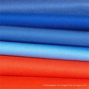Verschiedene Farbe Arbeit tragen Polyester Baumwoll-Twill-Stoff
