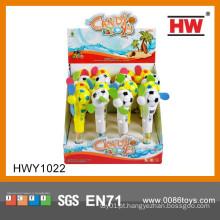 Engraçado portátil Mini Handheld Fan candy Brinquedos promocionais para crianças