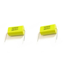 Metallized Polypropylene Film Capacitor Axial Type Circular Wire Lead