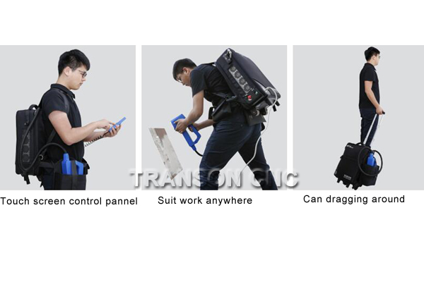 backpack laser cleaning machine