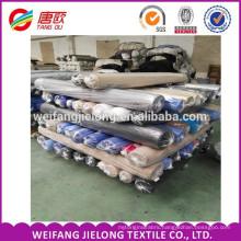 stock TC poplin fabric T/C 45X45 110x76 Stocked Cotton Spandex Poplin Fabric