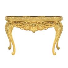Goldener Tisch für Hotelmöbel