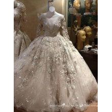 Venta caliente princesa vestido de boda vestido de bola