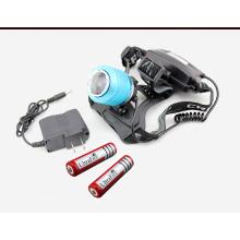 1, 000lm CREE Xm-L T6 LED rechargeable tête lampe