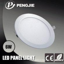 Lámpara de panel LED de ahorro de energía popular de 6W