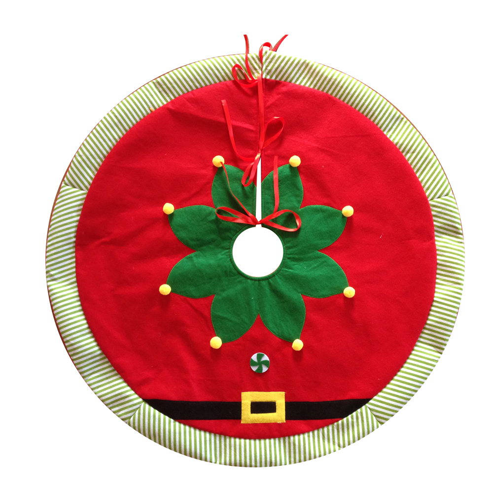 Magic Elf Pattern Christmas Tree Skirt