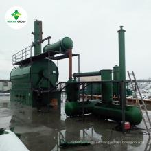 Aceite de motor a la planta diesel con 95% de rendimiento de aceite