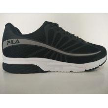Zapatillas de running de caucho negro para hombre
