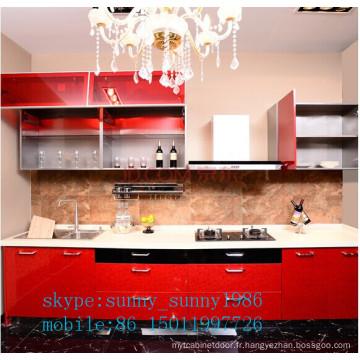 Armoire de cuisine acrylique (personnalisée)