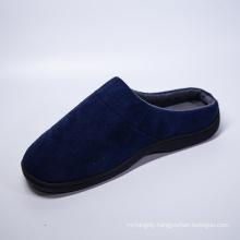 China Design Wholesale Faux Fur Slipper Men Home Indoor Comfort Slippers