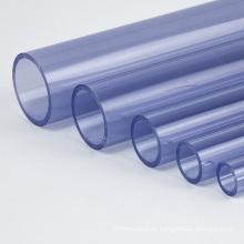 Blank Black Circular Hartplastik PVC Rohr 10mm