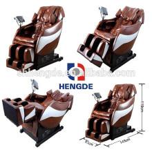 Maximum recline angle 210 degree beauty health massage chair