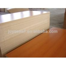 High quality melamine plywood/melamine mdf/melamine blockboard with cheap price