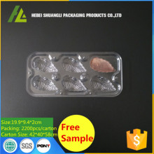 Plastic Leaf Chocolate Package Tray