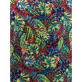 Tissu d'impression Tropical Design Rayon Challis 32S