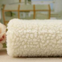 100% Polyester Warm Cashmere Velvet for Home Textile