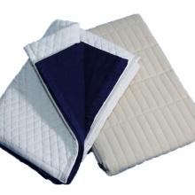 Cobertor elétrico de acrílico de poliéster de viagem patchwork portátil