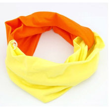 Fashion Colorful Sport Wide Hair Band With Cloth HB23