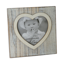 Marco de la foto del amor del corazón para la decoración casera