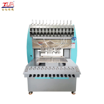 Mjuk Pvc Shoe Sole Drop Machine
