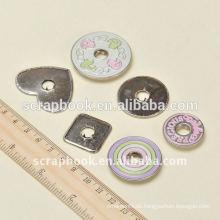 Niedliche lackiertem Metall Druckknopf für Kinder