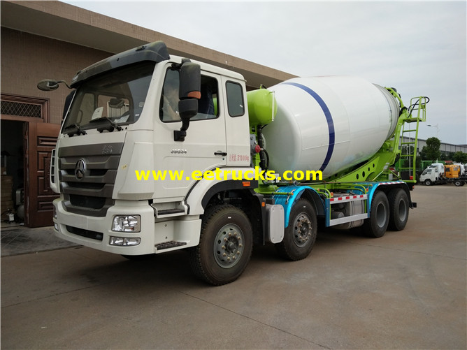 8x4 Cement Ready Mix Trucks