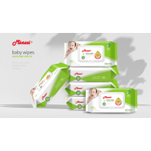 Lingettes nettoyantes Lingettes humides pour bébé sans alcool