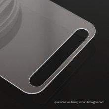 El protector de cristal moderado transparente de alta calidad de la pantalla del borde 2.5D del borde competitivo de alta calidad para Samsung S7 activo, acepta Paypal
