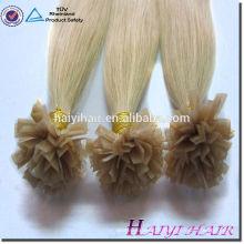 Vente chaude NEw Products Blonde 613 # V Tip cheveux pré-collés