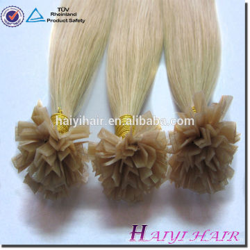 Hot Selling NEw Products Blonde 613# V Tip Pre-bonded Hair