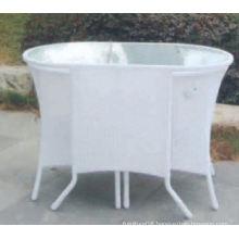 Stock lowes wicker patio furniture Bistro Set Accept Min Order