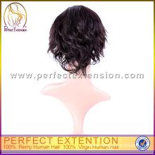 Paypal Pretty Girl Peruvian Unprocessed Virgin Hair Non Shedding Lace Cheap Short Bob Wigs
