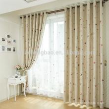 Etoiles imprimées en polyester et rideaux pour enfants
