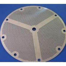 Disque filtrant en poudre en acier inoxydable fritté lavable