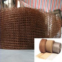 Écran en maille en tricot en cuivre pour filtre