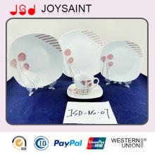 Chinesisches Porzellan-Keramik-Geschirr, Porzellan-Dinner-Set, Weihnachts-Porzellan-Dinner-Sets Keramik-Dinner-Set