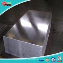 304 Hoja de acero inoxidable con espejo para decoración