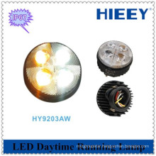 Round trailer led daytime running lamp 12W led daytime driving light for truck and trailers