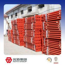 Soporte de encofrado de andamio para trabajos pesados / puntal de acero para la construcción