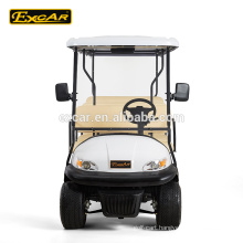48V Battery Voltage and CE Certification prices electric golf car with cargo box