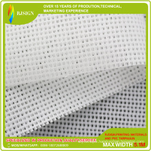 Mesh PVC with Release Liners for Solvent Printing